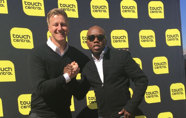 Gareth+Cliff+and+Tbo+Touch