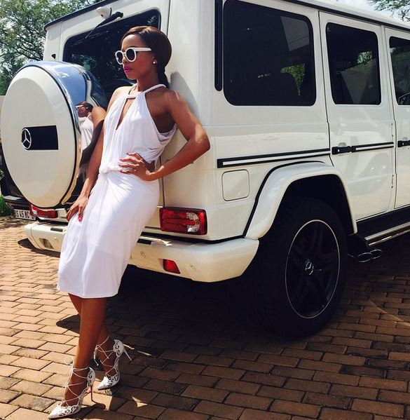 Top 10 SA Female Celebrities Who Have Driven The Doppest Cars
